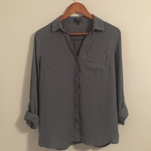 The Limited Ashton Top in Blue/Gray